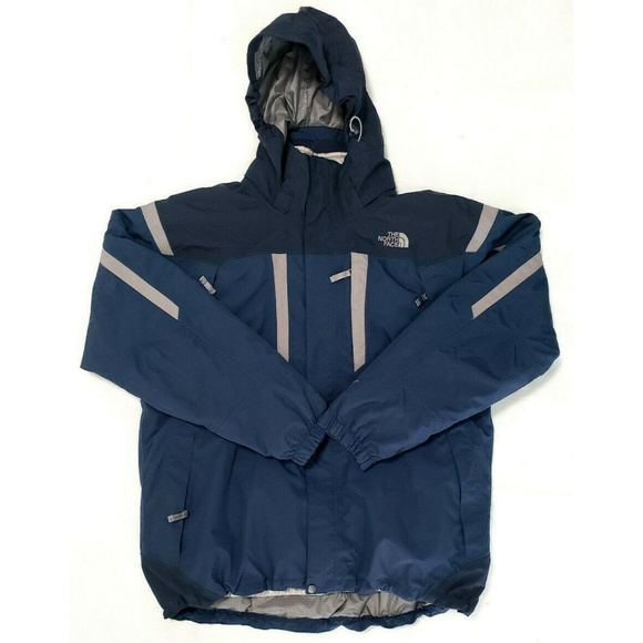 2a3afa521 The North Face Mens Hyvent 3 in 1 Blue Jacket XL